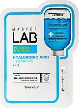 Profumi e cosmetici Maschera in tessuto con acido ialuronico - Tony Moly Master Lab Hyaluronic Acid Mask