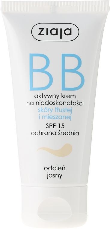 BB crema attiva per pelle grassa e mista (SPF 15) - Ziaja BB-Cream SPF 15