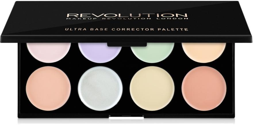 Palette correttori viso - Makeup Revolution Ultra Base Corrector Palette