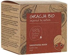 Profumi e cosmetici Maschera levigante con argilla caolino - Gracja Bio Smoothing Mask