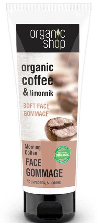 """Gommage viso """"Caffè del mattino"""" - Organic Shop Gommage Face"""
