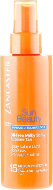 Spray corpo senza olio SPF 15 - Lancaster Sun Beauty Oil-Free Milky Spray SPF 15 — foto N2