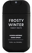 """Profumi e cosmetici Spray disinfettante mani """"Frutti di bosco"""" - HiSkin Antibac Hand Spray Frosty Winter"""