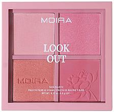 Profumi e cosmetici Palette trucco viso - Moira Look Out Palette