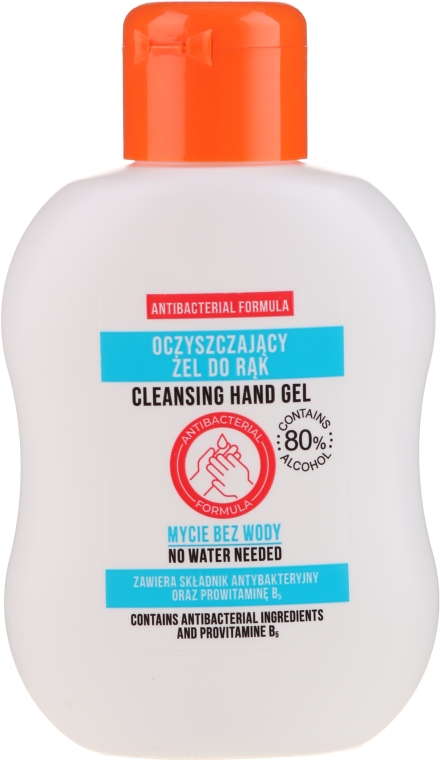 Gel detergente per mani - TSR Antibacterial Cleansing Hand Gel