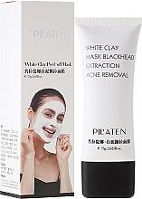"""Profumi e cosmetici Maschera viso """"Argilla bianca"""" - Pilaten White Clay Mask Blackhead Extraction Acne Removal"""