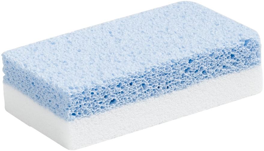 Pietra pomice per manicure e pedicure, bianco / blu - Peggy Sage Pumice Nail File