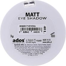 Ombretto opaco - Ados Matt Effect Eye Shadow — foto N18