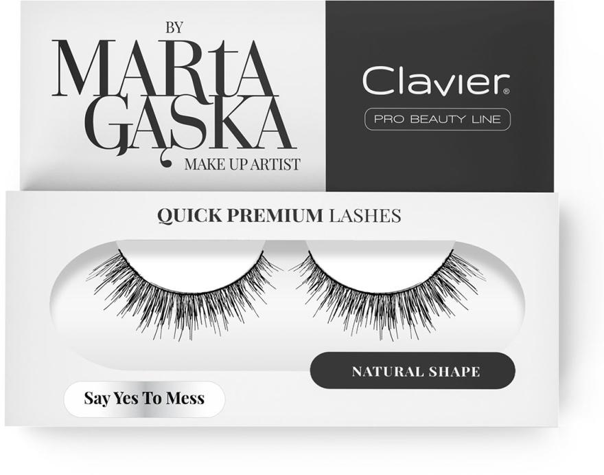 Ciglia finte - Clavier Quick Premium Lashes Say Yes To Mess SK09