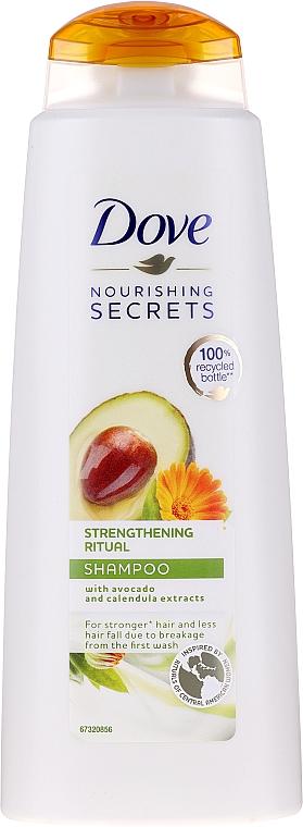 Shampoo all'estratto di avocado e calendula - Dove Nourishing Secrets Invigorating Ritual Shampoo