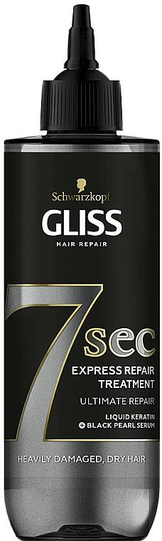 Maschera per capelli - Schwarzkopf Gliss Kur 7 Sec Express Repair Treatment Ultimate Repair