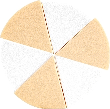Profumi e cosmetici Spugne triangolari - Astra Make-Up Precision Foundation Sponges
