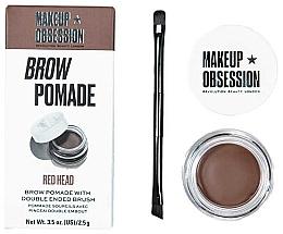 Profumi e cosmetici Pomata per sopracciglia - Makeup Obsession Brow Pomade