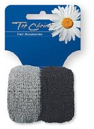 Elastici per capelli, 2 pz, 66481 - Top Choice — foto N1