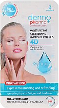 Profumi e cosmetici Patch-gel contorno occhi - Dermo Pharma 4D Moisturizing & Refreshing Gel Patches