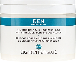 Scrub corpo salino - Ren Atlantic Kelp And Magnesium Salt Anti-Fatigue Exfoliating Body Scrub — foto N3