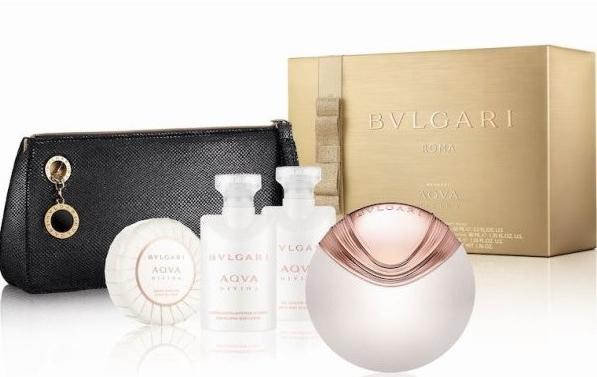 Bvlgari Aqva Divina - Set (edt65ml+bl40ml+sg40ml+soap50gr+bag)