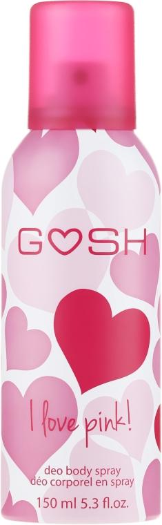 Deodorante spray - Gosh I Love Pink Deo Body Spray