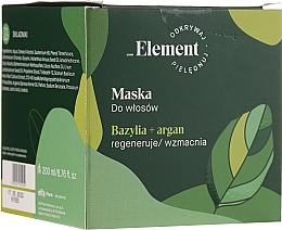 Profumi e cosmetici Maschera capelli anticaduta - _Element Basil Strengthening Anti-Hair Loss Mask