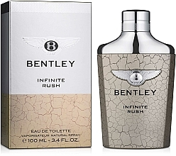 Profumi e cosmetici Bentley Infinite Rush - Eau de toilette