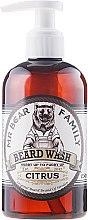 Profumi e cosmetici Shampoo per la barba - Mr. Bear Family Beard Wash Citrus