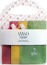 Profumi e cosmetici Set - Shiseido Waso Reset Cleanser (clansing/gel/3x70ml)