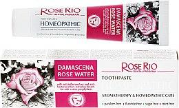 Profumi e cosmetici Dentifricio omeopatico - Rose Rio Toothpast