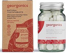 """Profumi e cosmetici Pillole per la pulizia dei denti """"Eucalyptus"""" - Georganics Toothtablets Eucalyptus"""