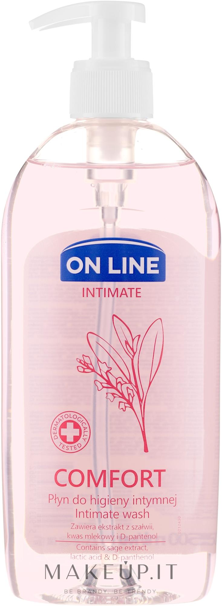 "Detergente intimo ""Salvia"" - On Line Intimate Comfort Intimate Wash — foto 500 ml"