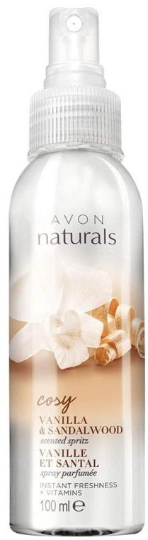 """Crema corpo """"Vaniglia e Sandalo"""" - Avon Naturals Vanilla Sandalwood Body Spray"""