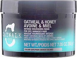 Profumi e cosmetici Maschera per capelli rigenerante - Tigi Catwalk Oatmeal & Honey Nourishing Mask