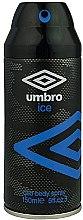 Profumi e cosmetici Umbro Ice - Deodorante-spray
