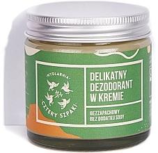 Profumi e cosmetici Deodorante-crema senza aggiunta di bicarbonato di sodio - Cztery Szpaki