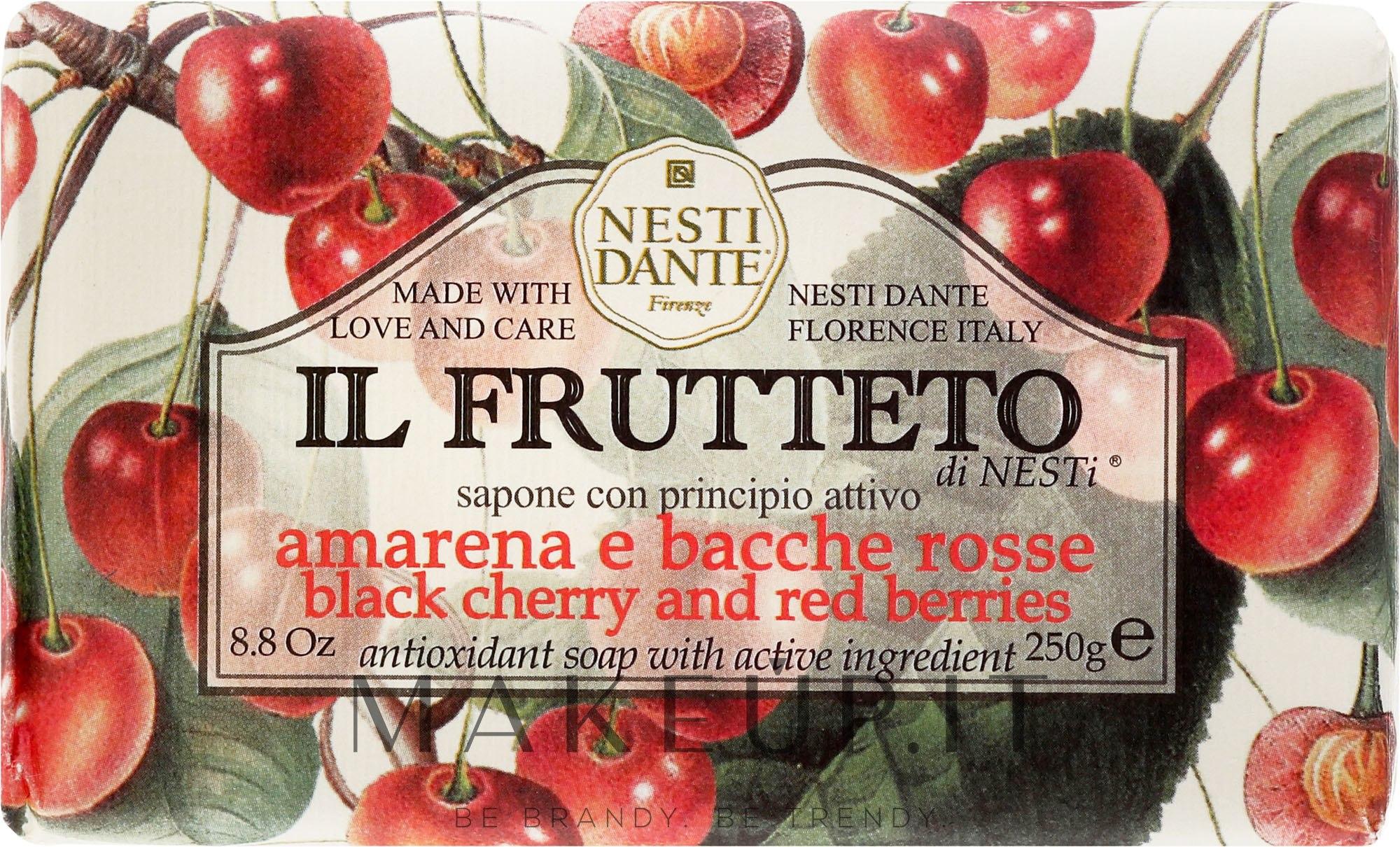 """Sapone """"Ciliegia e bacche rosse"""" - Nesti Dante Il Frutteto Soap — foto 250 g"""