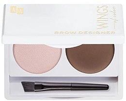 Profumi e cosmetici Palette per sopracciglia - AA Wings Of Color Brow Designer