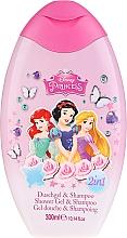 Profumi e cosmetici Shampoo per capelli - EP Line Disney Princess Shower & Shampoo