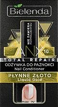 """Profumi e cosmetici Condizionante unghie """"Oro liquido"""" - Bielenda Liquid Gold Nail Conditioner"""
