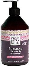 Profumi e cosmetici Shampoo illuminante per capelli colorati - Renee Blanche Natur Green Bio Illuminante Shampoo