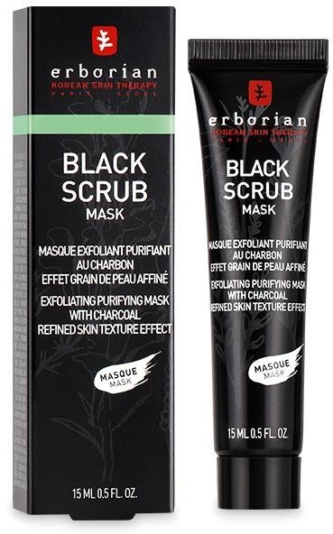 Maschera scrub purificante al carbone - Erborian Black Scrub Mask