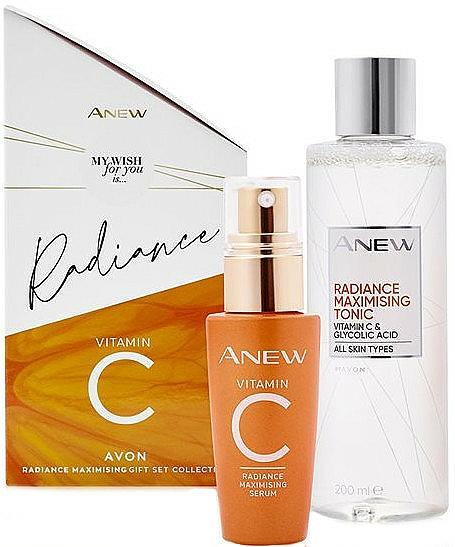 Set - Avon Anew Radiance Vitamin C (ser/30ml + ton/200ml)