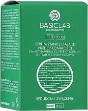 Profumi e cosmetici Siero per inestetismi cutanei con niacinamide 5%, prebiotico 5% e acqua di riso filtrata - BasicLab Dermocosmetics Esteticus