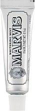 """Profumi e cosmetici Dentifricio Sbiancante """"Menta"""" - Marvis Whitening Mint Toothpaste (mini)"""