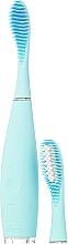 Profumi e cosmetici Spazzolino elettrico con testina extra - Foreo Issa 2 Sensitive Set Mint