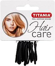 Profumi e cosmetici Elastici capelli piccoli, nero, 2 mm - Titania