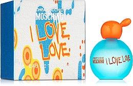 Profumi e cosmetici Moschino I Love Love - Eau de toilette (mini)