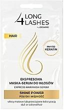 Profumi e cosmetici Maschera-siero per capelli - Long4Lashes Hair Shine Power