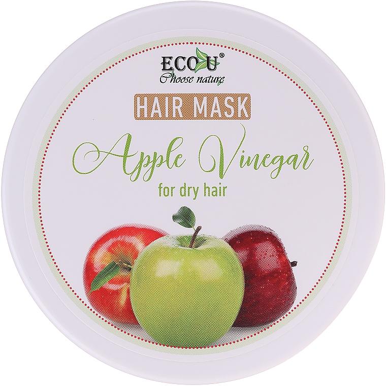 "Maschera per capelli secchi ""Aceto di mele"" - ECO U Apple Vinegar Hair Mask For Dry Hair"