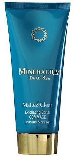 Scrub esfoliante - Mineralium Matte&Clear Exfoliating Scrub — foto N1