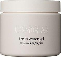 Profumi e cosmetici Crema-gel idratante intensiva - Cremorlab T.E.N. Cremor Fresh Water Gel