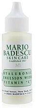 Profumi e cosmetici Siero viso - Mario Badescu Hyaluronic Emulsion With Vitamin C
